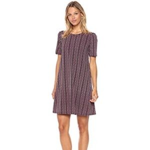 BCBGeneration shortsleeved striped swing dress